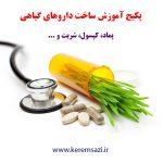آموزش ساخت داروهای گیاهی
